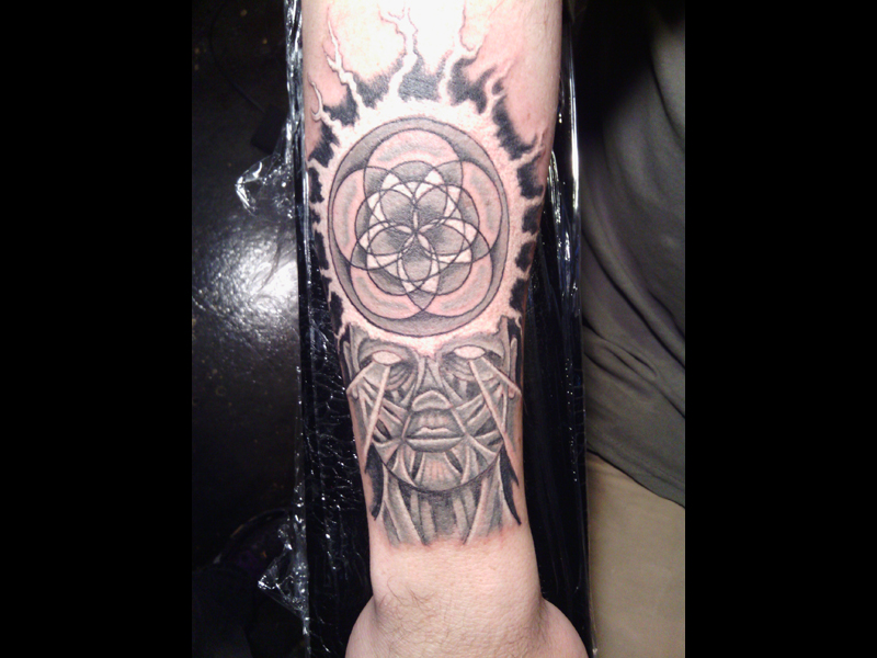 Tattoo by Steve Shales at Lucky Lotus Tattoo